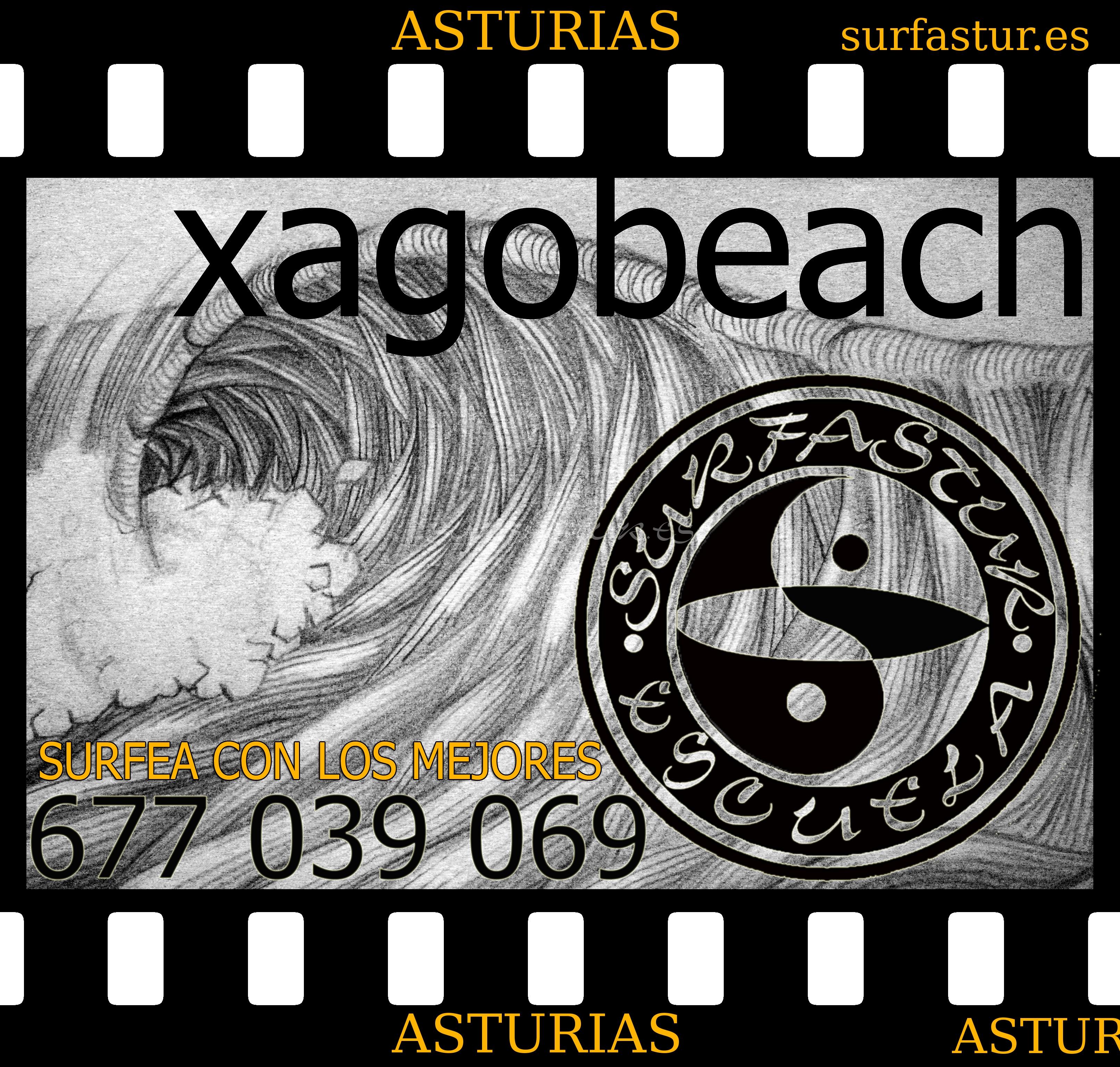 ¡ APUNTATE YA, A LA ESCUELA SURFASTUR !, TE ENSEÑAMOS A SURFEAR, A MEJORAR LA TECNICA Y A PERFECCIONAR TU SURF… CONOCE EL FUNCIONAMIENTO DE LAS OLAS POR TODAS LAS PLAYAS DE LA REGION. TENEMOS LA SEDE EN LA PLAYA DE XAGÓ. COMIENZAN LOS CURSOS PARA INICIARSE EN EL MUNDO DEL SURF, PARA TODAS LAS EDADES. SEGURO DE RESPONSABILIDAD CIVIL Y ACCIDENTES. MATERIAL NECESARIO PARA LA PRACTICA DEL DEPORTE. MONITORES CON VIGILANCIA PERMANENTE. DISFRUTA DEL SURF, CON LA ESCUELA SURFASTUR. CURSO DE INICIACION……………………….7 DIAS CURSO DE PERFECCIONAMIENTO………1 MES ( POR SEMANA O FINES DE SEMANA ) NOS ADAPTAMOS A TU HORARIO……………LOS PRECIOS MAS ECONOMICOS DE ASTURIAS. TELF……………………….677 039 069 UN SALUDO A TODOS. MUY ATENTAMENTE…………D. PABLO ARES.